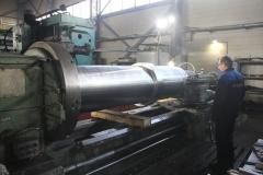 Механическая обработка на токарном станке ДИП 500 окончание работ